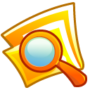 Folder, search, seek, Find Icon