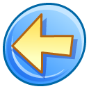 previous, Arrow, Backward, prev, Back, Left LightSkyBlue icon
