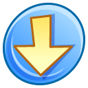 descending, Down, Descend, fall, Decrease, download LightSkyBlue icon