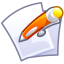 Edit, document, paper, File, writing, write Lavender icon