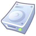 save, disc, Hard, Disk Lavender icon