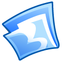 Folder, Blue CornflowerBlue icon