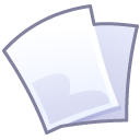 File, document, paper Lavender icon