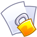 paper, security, locked, File, Lock, document Lavender icon