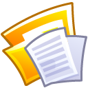 Folder, document, File, paper Lavender icon