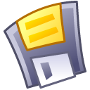 Floppy, save DimGray icon