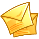 Letter, envelop, Message, Email, mail Khaki icon