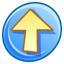 increase, upload, rise, Up, Ascending, Ascend LightSkyBlue icon
