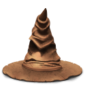 sorting, hat Black icon