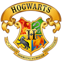 Home, hufflepuff, house, homepage, Crest, Building, hogwarts, ravenclaw, harry potter, gryffindor, slytherin Black icon