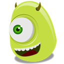 wazowski, mike DarkKhaki icon