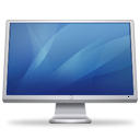 Blue, Display, screen, monitor, cinema, Computer SteelBlue icon