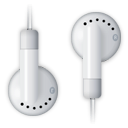 Headphone, Headset, ipod Black icon