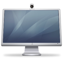 Graphite, cinema, Computer, monitor, Isight, Display, screen DarkSlateGray icon
