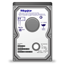 maxtor, vertical Black icon