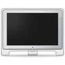 screen, Display, monitor, Computer, Front, old, cinema Black icon