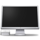 cinema, Computer, Display, screen, monitor, Macmini Black icon