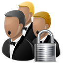security, locked, Lock, network Black icon