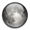 Moon DarkSlateGray icon