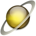 saturn Black icon