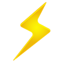 lightning Black icon