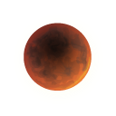 lunar, weather, climate, Eclipse, nature PaleGoldenrod icon