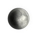 Moon, climate, nature, weather LightGray icon