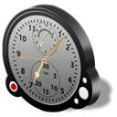 aviation, altimeter Black icon