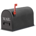 mail, envelop, Letter, Email, Message DarkSlateGray icon