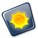 climate, weather Black icon