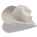 hat, White, Cowboy Black icon