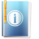 Info, about, Information SkyBlue icon