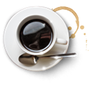 food, mocca, Coffee, coffecup, cup Black icon