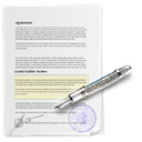 sign up, File, paper, document, register WhiteSmoke icon