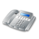 Tel, telephone, office, phone, Call Black icon
