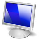 screen, Display, Computer, monitor Black icon