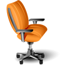 Chair Black icon