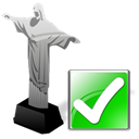 cristoredentor, Arrow, correct, ok, yes, Forward, next, right Black icon