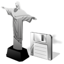 cristoredentor, save Black icon