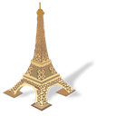 torreeiffel Black icon