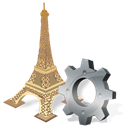 option, preference, Configure, configuration, config, torreeiffel, Setting Black icon