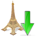 Decrease, fall, torreeiffel, Down, descending, Descend, download Icon