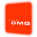 Computer, hal, Display, screen, dmg, monitor Red icon