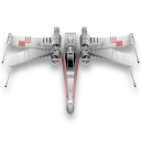 wing, starwars Black icon