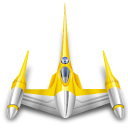 starfighter, starwars, Naboo Black icon