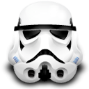 Clone, starwars, storm trooper, old WhiteSmoke icon
