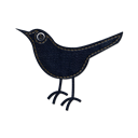 denim, Animal, jean, twitter, Sn, bird, Social, social network Black icon