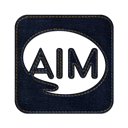 Logo, jean, denim, Aim, Social, square Icon