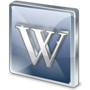 wikipedia Black icon