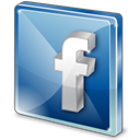 Sn, Social, Facebook, social network SteelBlue icon